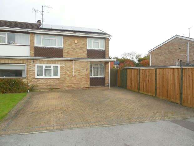 3 Bedrooms End Of Terrace House for sale in Logan Close, Tilehurst, Reading,
