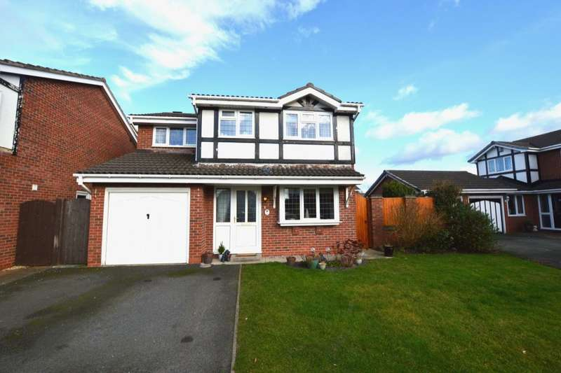 4 Bedrooms Detached House for sale in Inglewood Avenue, Middlewich, CW10