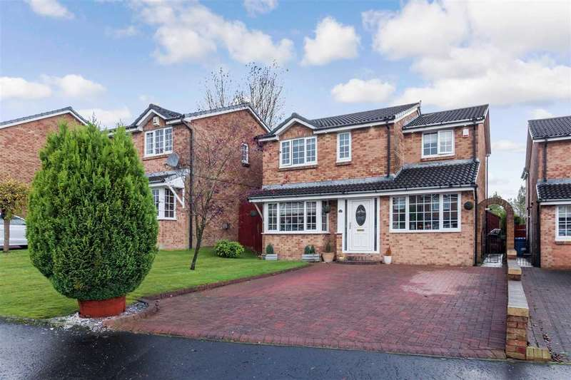 5 Bedrooms Detached House for sale in Bellflower Grove, Stewartfield, EAST KILBRIDE