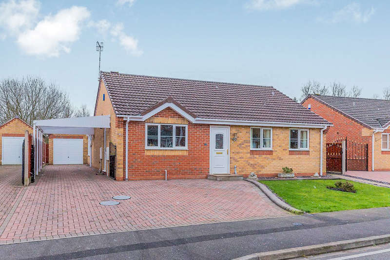 3 Bedrooms Detached Bungalow for sale in Parma Grove, Meir Hay, Stoke-On-Trent, ST3