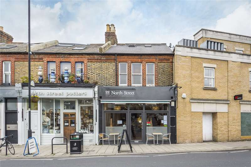 3 Bedrooms Flat for sale in North Street, London, SW4