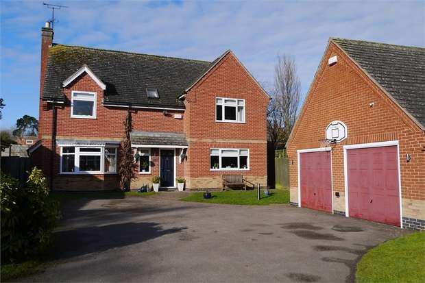 4 Bedrooms Detached House for sale in 'Ashtree House', Kelmarsh Road, Clipston, Leicestershire