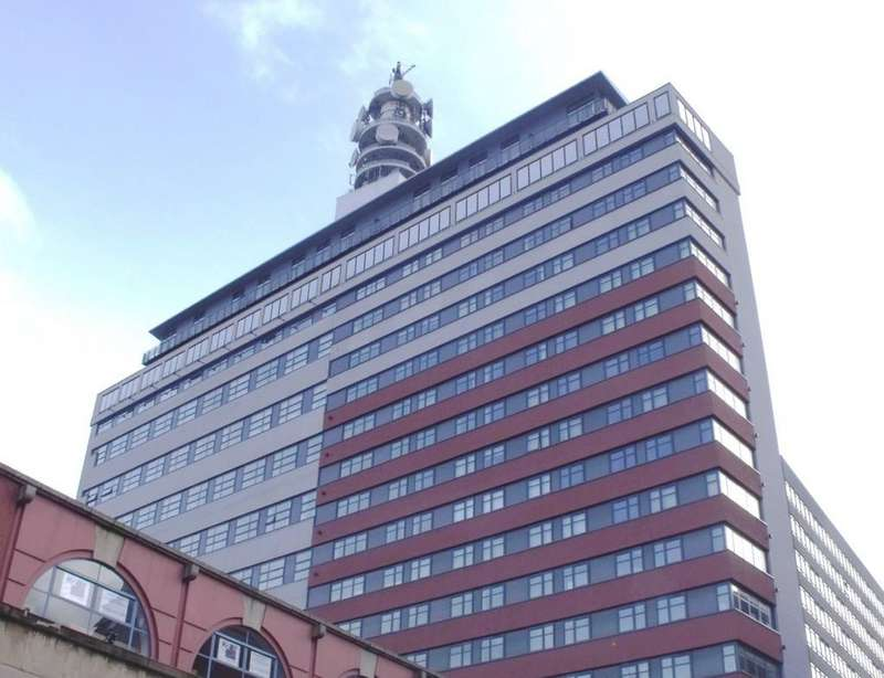 2 Bedrooms Apartment Flat for sale in Brindley House, Newhall Street