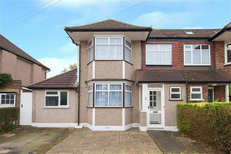 3 Bedrooms Semi Detached House for sale in Cannonbury Avenue, Pinner, Middlesex