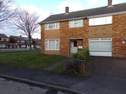 3 Bedrooms End Of Terrace House for sale in Whaddon Way, Bletchley, Milton Keynes, Buckinghamshire