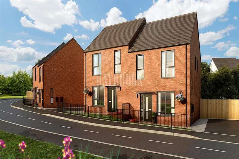 4 Bedrooms Semi Detached House for sale in Plot 252 The Redmire, Sheffield S5