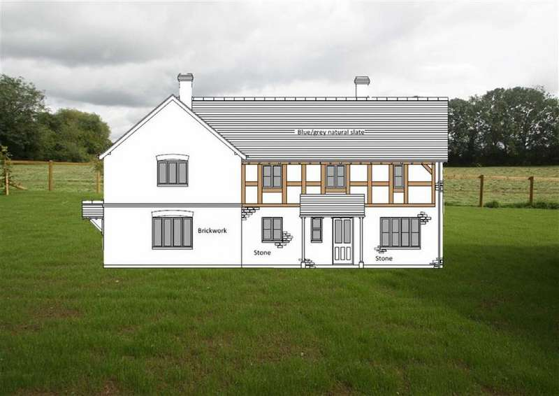 3 Bedrooms House for sale in 3 White Lions Meadow, LYONSHALL, Kington, Herefordshire