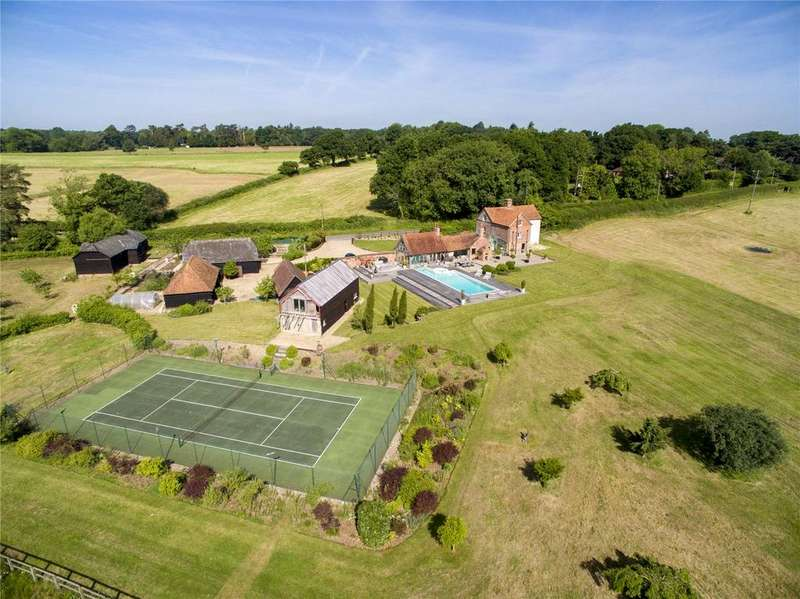 4 Bedrooms Equestrian Facility Character Property for sale in Well Street, Burghclere, Newbury, Berkshire, RG20