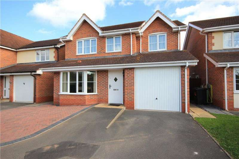 4 Bedrooms Detached House for sale in Bankfield Drive, Withington, Hereford, HR1