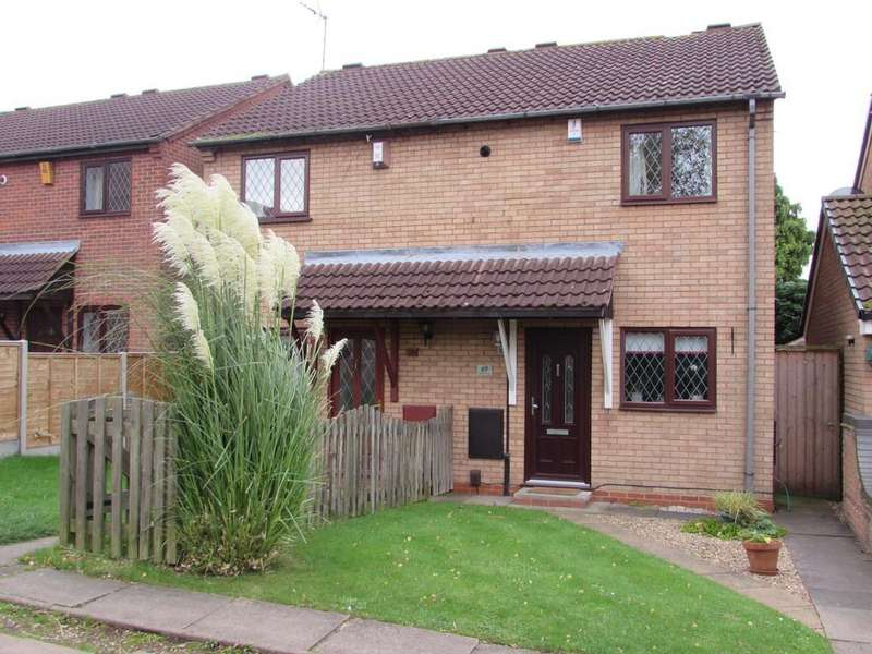 2 Bedrooms Semi Detached House for sale in Tilesford Close, Shirley