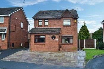 3 Bedrooms Detached House for sale in Sandway, Springfield, Wigan, WN6 7SF