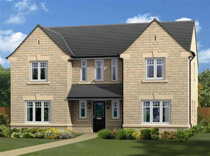 5 Bedrooms Detached House for sale in Moorbank Lea, Green Lane, Shelf, Halifax, HX3