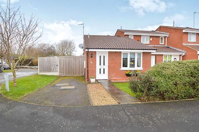 1 Bedroom Semi Detached Bungalow for sale in The Poppins, Leicester, LE4