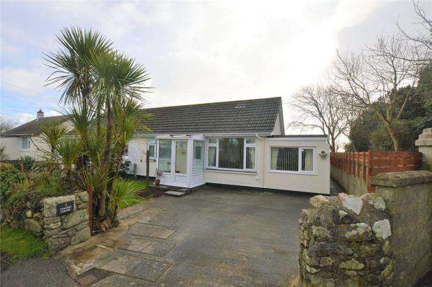 2 Bedrooms Semi Detached Bungalow for sale in Coaches Corner, Breage, Helston, Cornwall