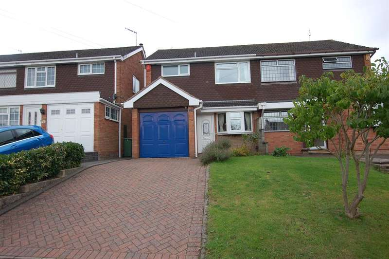 3 Bedrooms Semi Detached House for sale in Rothesay Drive, Wordsley, DY8 5ER