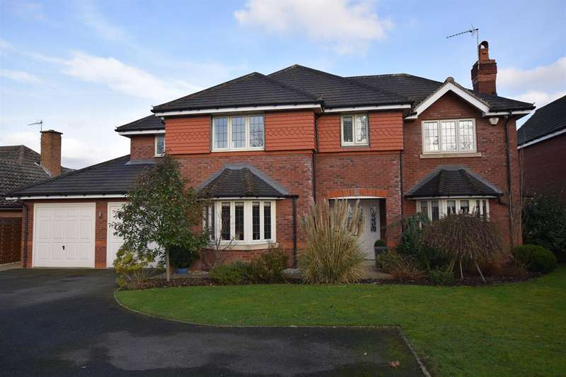 5 Bedrooms Detached House for sale in Manor Road, Dorridge, Solihull, B93 8DX