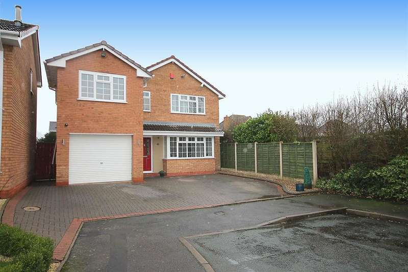 5 Bedrooms Detached House for sale in Dorset Close, Fazeley,Tamworth, B78 3XY