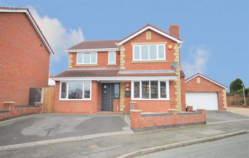 4 Bedrooms Detached House for sale in Lakeland Drive, Wilnecote, Tamworth B77 5TG
