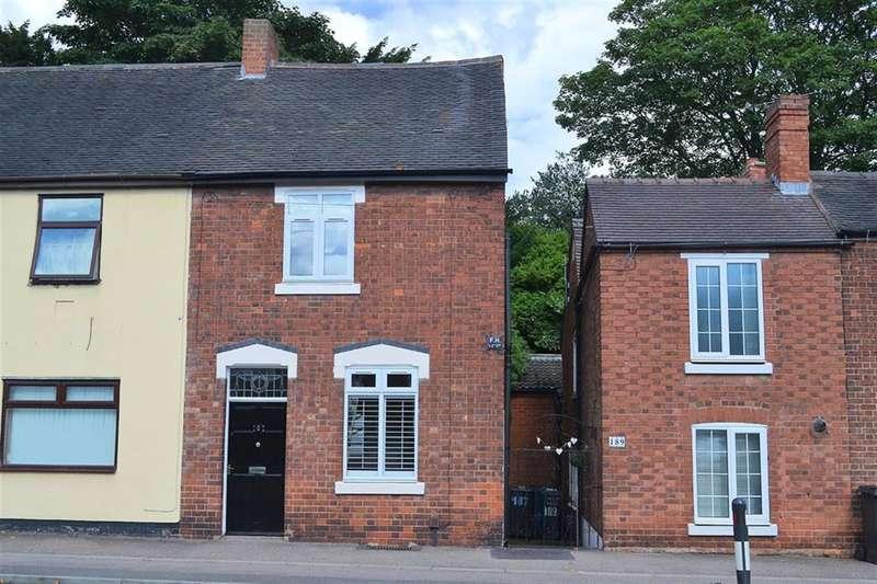 3 Bedrooms Semi Detached House for sale in Upper St John Street, Lichfield