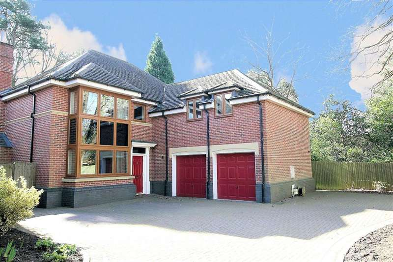 5 Bedrooms Detached House for sale in Rosemary Hill Road, Little Aston, B74 4HN