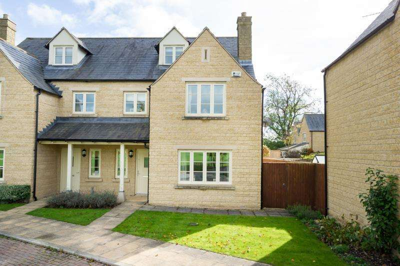 5 Bedrooms Semi Detached House for sale in Abingdon Road, Standlake, Witney, Oxfordshire