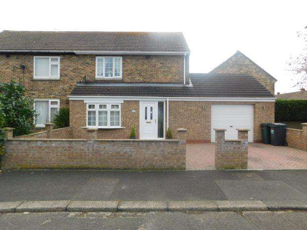 2 Bedrooms Semi Detached House for sale in LIDDLE AVENUE, SHERBURN VILLAGE, DURHAM CITY : VILLAGES EAST OF