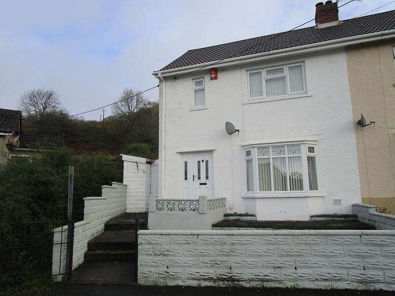 2 Bedrooms Semi Detached House for sale in Tanygarth, Abercrave, Swansea.