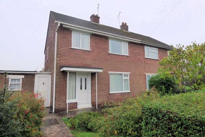 3 Bedrooms Semi Detached House for sale in Harvey Place, Uttoxeter