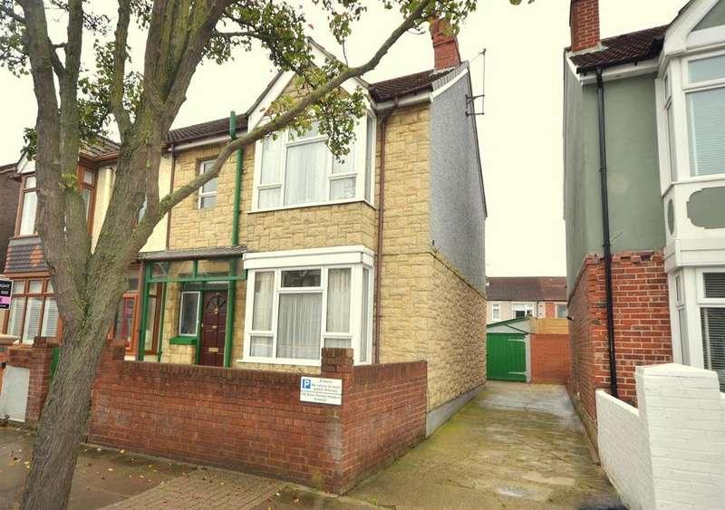 3 Bedrooms Semi Detached House for sale in Baffins Road, Baffins, Portsmouth