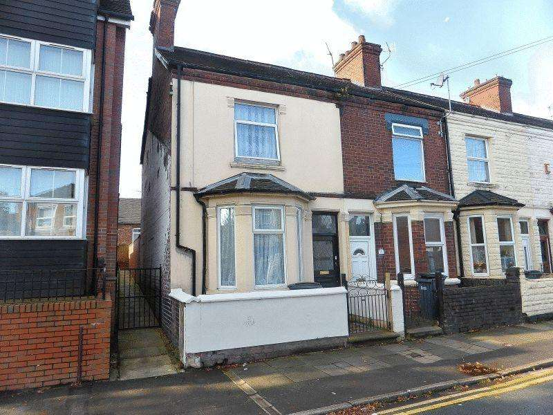 2 Bedrooms Terraced House for sale in Corporation Street, Stoke-On-Trent