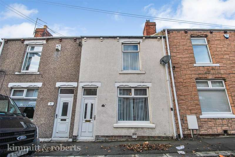 2 Bedrooms Terraced House for sale in Gertrude Street, Grasswell, Houghton le Spring, Tyne and Wear, DH4