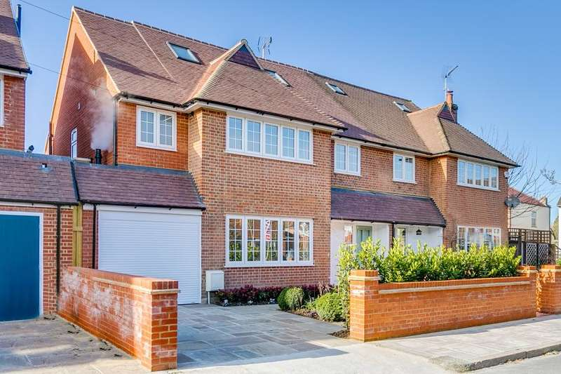 5 Bedrooms Semi Detached House for sale in Burdenshott Avenue, Richmond