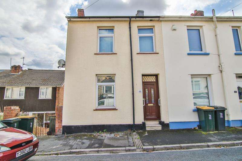2 Bedrooms End Of Terrace House for sale in Crescent Road, Newport