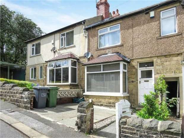 3 Bedrooms Terraced House for sale in Hawthorne Terrace, Crosland Moor, Huddersfield, West Yorkshire