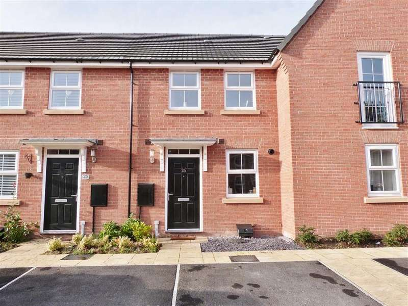 2 Bedrooms Terraced House for sale in Pavillion Close, Pocklington