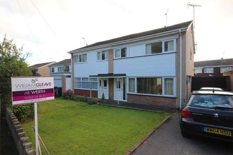 3 Bedrooms Semi Detached House for sale in Church Road, Buckley, Flintshire