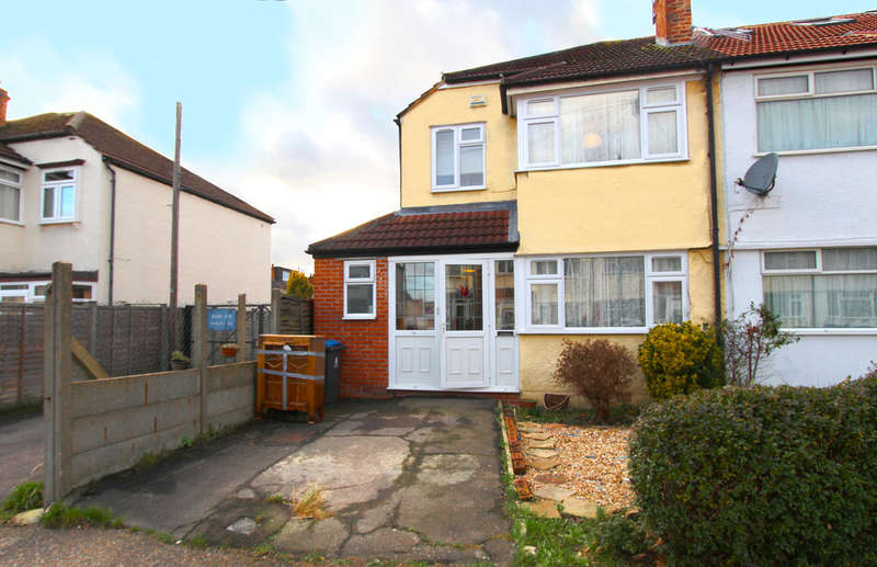 3 Bedrooms End Of Terrace House for sale in Tadworth Avenue, New Malden