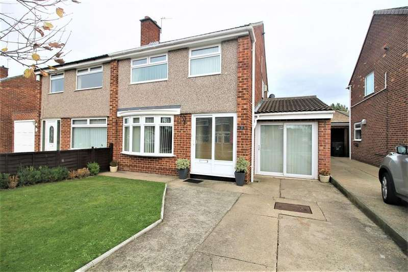 3 Bedrooms Semi Detached House for sale in Ricknall Close, Middlesbrough
