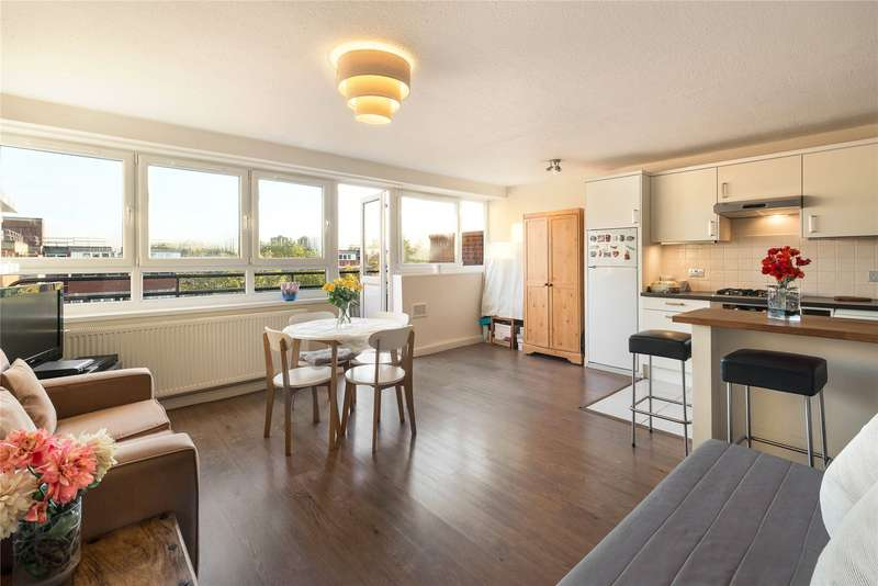 1 Bedroom Flat for sale in Goulden House, Bullen Street, London, SW11