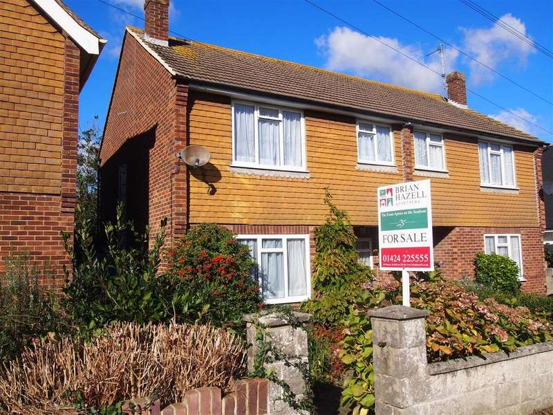 2 Bedrooms Semi Detached House for sale in Eastwood Road, Bexhill-On-Sea
