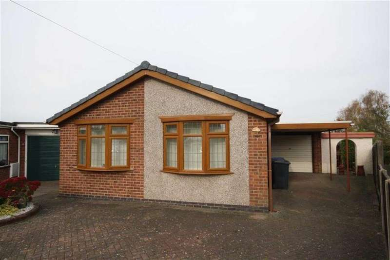 2 Bedrooms Detached Bungalow for sale in Fox's Covert, Fenny Drayton, Warwickshire