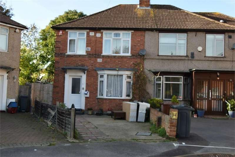 3 Bedrooms Semi Detached House for sale in Colwyn Crescent, Hounslow, Greater London