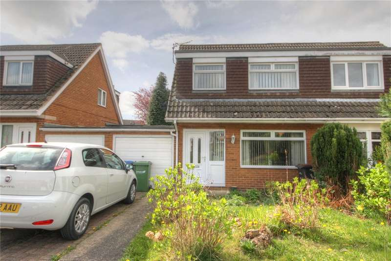 3 Bedrooms Semi Detached House for sale in Middleham Walk, Spennymoor, County Durham, DL16