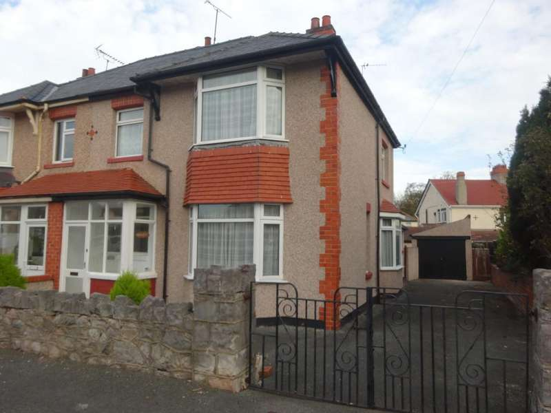 3 Bedrooms Semi Detached House for sale in Glyn Avenue, Abergele