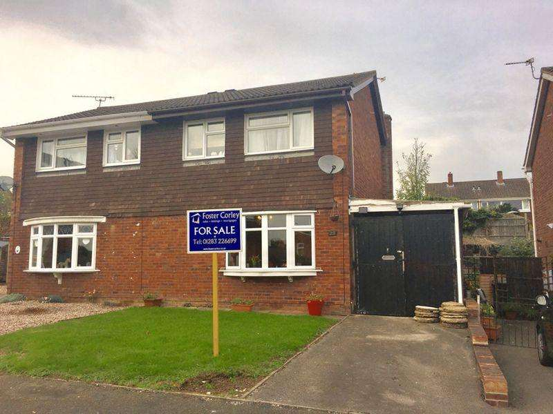3 Bedrooms Semi Detached House for sale in Stoneydale Close, Newhall