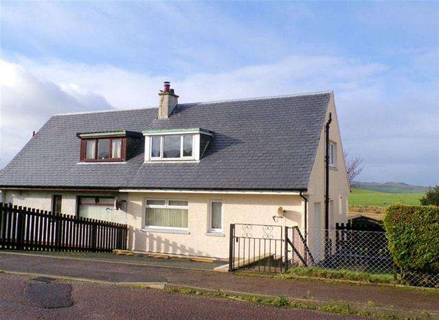 2 Bedrooms Semi Detached House for sale in 35 Burnside Cottages, Stewarton, by Campbeltown, PA28 6PQ
