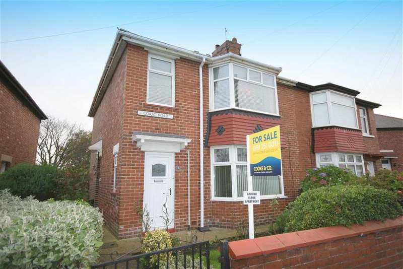 2 Bedrooms Flat for sale in Coast Road, North Shields, Tyne And Wear, NE29