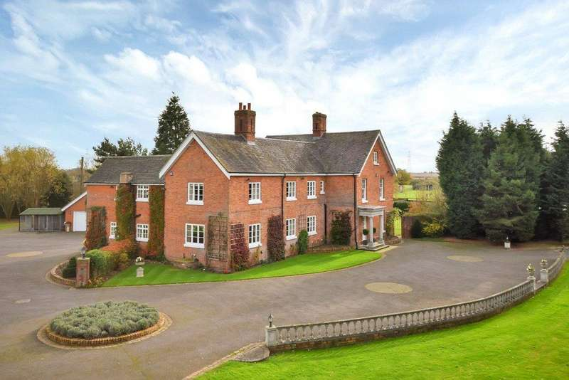 6 Bedrooms Detached House for sale in Lichfield