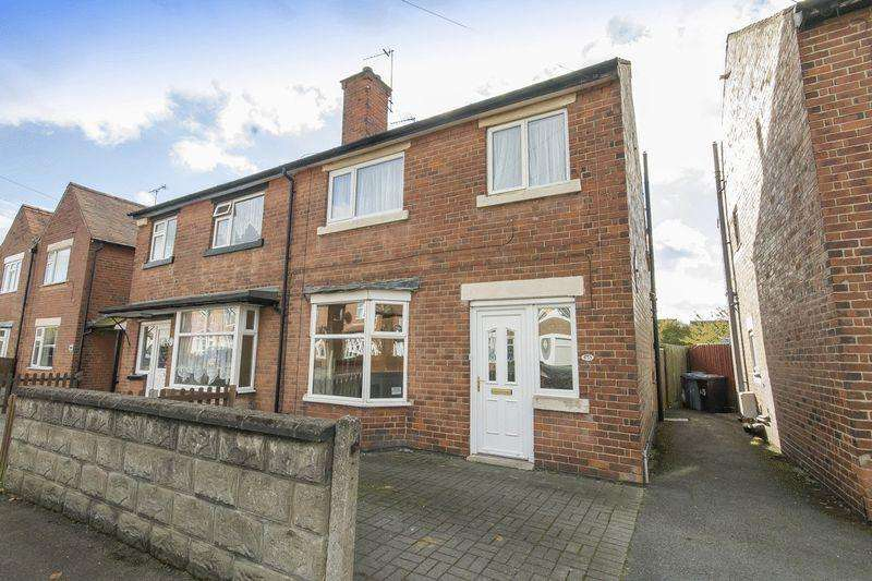3 Bedrooms Semi Detached House for sale in BAKER STREET, ALVASTON