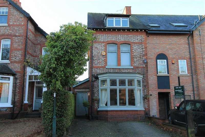 4 Bedrooms Semi Detached House for sale in Trafford Road, ALDERLEY EDGE, Alderley Edge